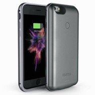 Smart Power Bank Battery Charger Case 5000mAh for iPhone 8 / 7 - Grey