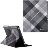 Speck FitFolio Slim-Fit Protective Case for iPad 2, iPad 3 and iPad 4th Generation - MegaPlaid Black