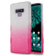 Tuff Full Glitter Hybrid Protective Case for Samsung Galaxy Note 9 - Gradient Pink