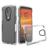 Transparent Protective Bumper Case for Motorola Moto E5 Play / E5 Cruise - White
