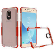 Transparent Protective Bumper Case for Motorola Moto E5 Play / E5 Cruise - Red