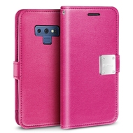 Essential Leather Wallet Case for Samsung Galaxy Note 9 - Hot Pink