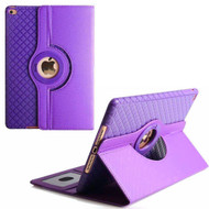 360 Degree Smart Rotating Hybrid Case for iPad Pro 10.5 inch - Checker Purple