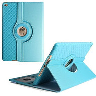 360 Degree Smart Rotating Hybrid Case for iPad Pro 10.5 inch - Checker Baby Blue