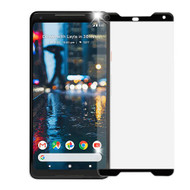 Premium Full Coverage 3D Tempered Glass Screen Protector for Google Pixel 2 XL - Black