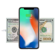 *SALE* 100 Dollar Bill 10W Fast Wireless Charger Qi Charging Pad