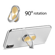 Smart Loop Universal Smartphone Holder & Stand - Oval Gold
