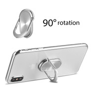 Smart Loop Universal Smartphone Holder & Stand - Oval Silver