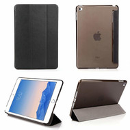 All-In-One Smart Leather Hybrid Case for iPad Mini 4 - Black