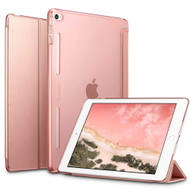 Leather Smart Hybrid Case for iPad Mini 4 - Rose Gold