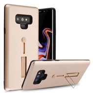 Finger Loop Case with Kickstand for Samsung Galaxy Note 9 - Rose Gold