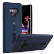 Finger Loop Case with Kickstand for Samsung Galaxy Note 9 - Navy Blue