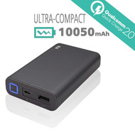 Certified Qualcomm Quick Charge 2.0 Portable Power Bank Battery Charger 10050mAh