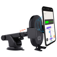 HyperGear Qi Wireless Charging Pad 5W Telescopic Mount Charger