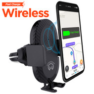 HyperGear Qi Wireless Fast Charging Pad 10W Air Vent Mount Charger
