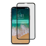 Premium Full Coverage Tempered Glass Screen Protector for iPhone XS Max - Black