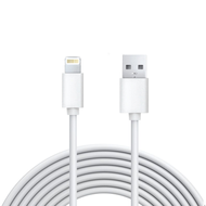 5 Ft. Lightning Connector to USB Charging and Sync Cable - White