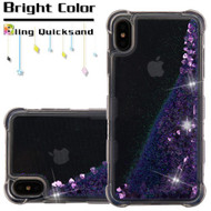 Tuff Lite Quicksand Case for iPhone XS Max - Purple