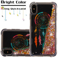 Tuff Lite Quicksand Case for iPhone XS Max - Dreamcatcher Gold