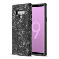 Splash Ink Tactile Surface Hybrid Armor Case for Samsung Galaxy Note 9 - Black