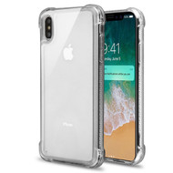Tough Snap-on Crystal Fusion Case for iPhone XS Max - Clear