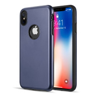 Slim Armor Hybrid Case for iPhone XS Max - Navy Blue