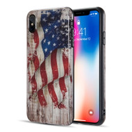 Graphic Rubberized Protective Gel Case for iPhone XS Max - Glory USA