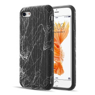 Splash Ink Tactile Surface Hybrid Armor Case for iPhone 8 / 7 - Black