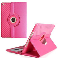 360 Degree Smart Rotating Hybrid Case for iPad Pro 10.5 inch - Checker Hot Pink