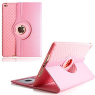 360 Degree Smart Rotating Hybrid Case for iPad Pro 10.5 inch - Checker Pink