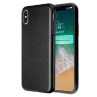 Carbon Fiber Hybrid Case for iPhone XS Max - Black