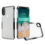 Transparent Protective Bumper Case for iPhone XS Max - Black
