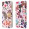 Luxury Bling Portfolio Leather Wallet Case for Motorola Moto G6 Play / G6 Forge - Butterfly Wonderland