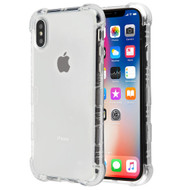 TUFF Klarity Electroplating Transparent Anti-Shock TPU Case for iPhone XS / X - Clear
