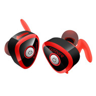 *SALE* TWS True Stereo Twins Bluetooth V4.1 Wireless Headsets - Black Red