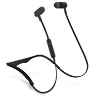 HyperGear Flex 2 Bluetooth V4.2 Wireless Sweat-Proof Sports Headphones - Black