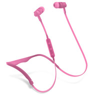 HyperGear Flex 2 Bluetooth V4.2 Wireless Sweat-Proof Sports Headphones - Pink