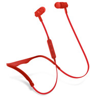 HyperGear Flex 2 Bluetooth V4.2 Wireless Sweat-Proof Sports Headphones - Red