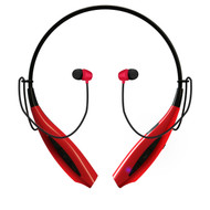 HyperGear Freedom BT150 Bluetooth V4.1 Wireless Sweat-Proof Headphones - Red