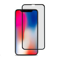 Premium Full Coverage Tempered Glass Screen Protector for iPhone XR - Black
