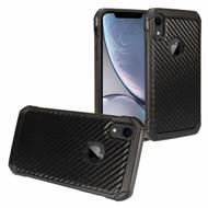 Tough Anti-Shock Hybrid Case for iPhone XR - Carbon Fiber