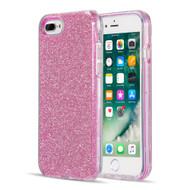 Glitter Edition Ultimate Deluxe Hybrid Case for iPhone 8 Plus / 7 Plus / 6S Plus / 6 Plus - Pink