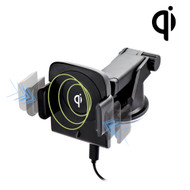 Robotic Qi Wireless 10W Fast Charging Pad Telescopic Mount Charger