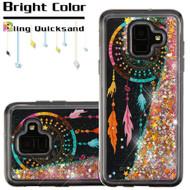 Quicksand Glitter Transparent Case for Samsung Galaxy A6 (2018) - Dreamcatcher