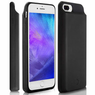 Quantum Energy Smart Power Bank Battery Case 7200mAh for iPhone 8 Plus / 7 Plus / 6S Plus / 6 Plus - Black