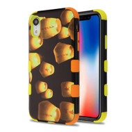 Military Grade Certified TUFF Hybrid Armor Case for iPhone XR - Lanterns
