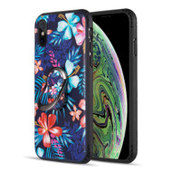 FunShield Series Ring Case for iPhone XS / X - Lilies