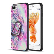 FunShield Series Ring Case for iPhone 8 Plus / 7 Plus / 6S Plus / 6 Plus - Mandala
