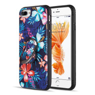 FunShield Series Ring Case for iPhone 8 Plus / 7 Plus / 6S Plus / 6 Plus - Lilies
