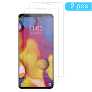 HD Premium 2.5D Round Edge Tempered Glass Screen Protector for LG V40 ThinQ - Twin Pack